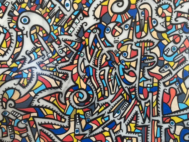 Christophe THOMAS - Peinture sur marbre AJI Magazine