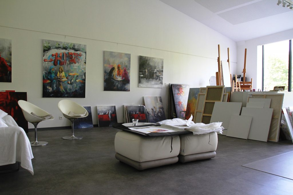 Lysiane BECK - Artiste Peintre AJI Magazine
