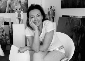 Lysiane BECK Peintre AJI Magazine