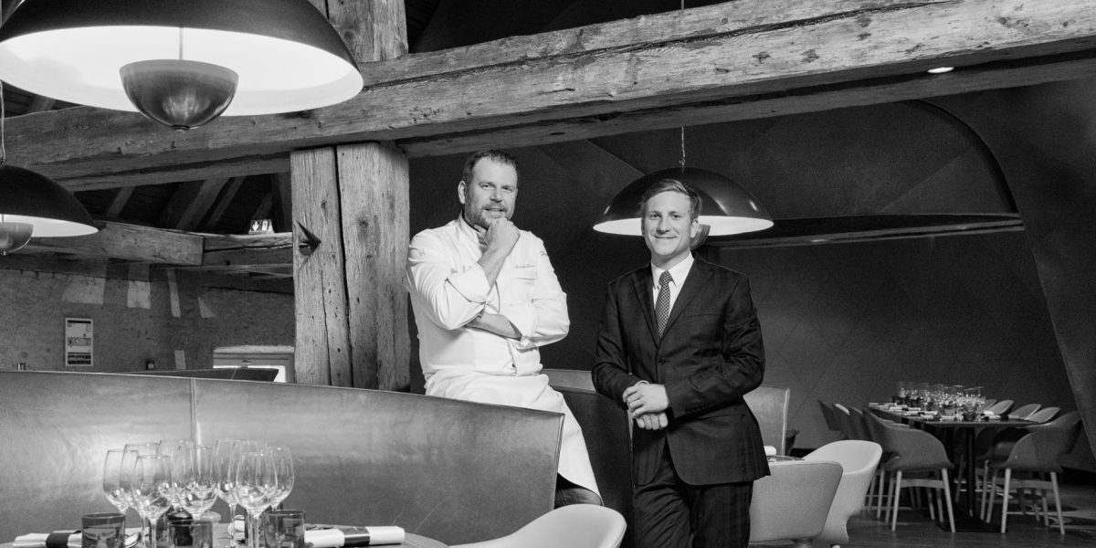Maxime MULLER - Francois BAUR - Brasserie Les Haras AJI Magazine