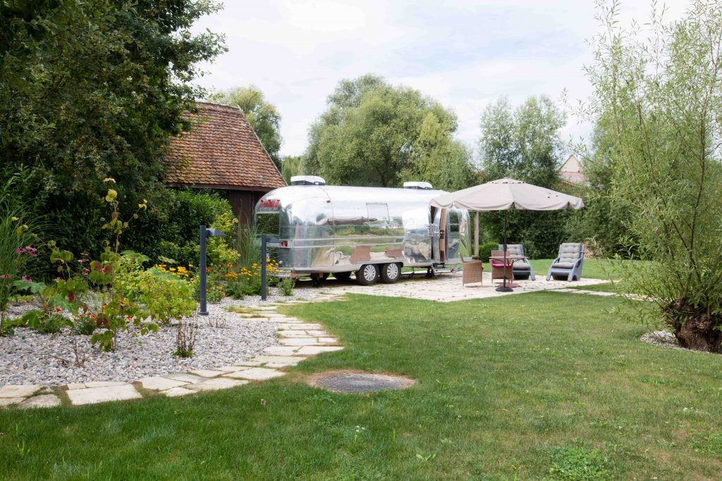 Caravane Air Stream - Spa des Saules - Illhaeusern - AJI Magazine