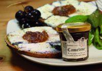 Confitures du Climont - Cameline_recette_chèvre_blanc