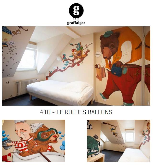 AJI-Magazine Hôtel Graffalgar - Strasbourg - chambre 410  AJI Magazine
