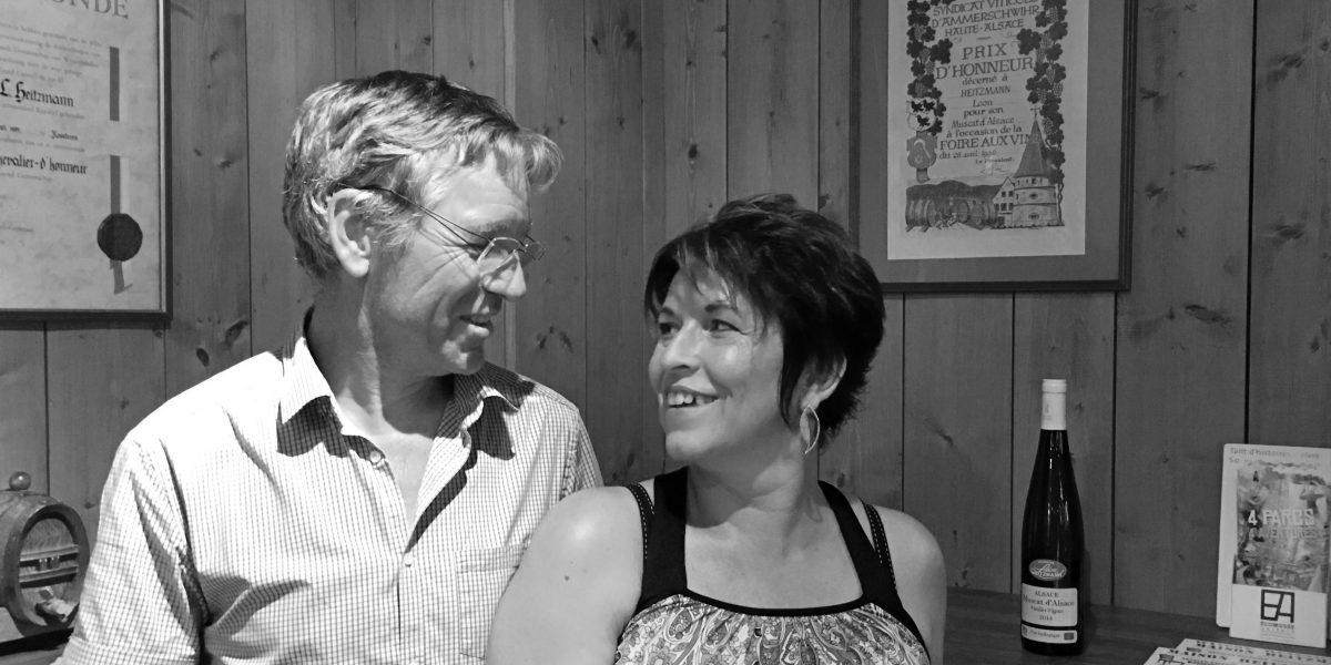 Léon et Sandrine HEITZMANN - Domaine Leon HEITZMANN - AJI Magazine